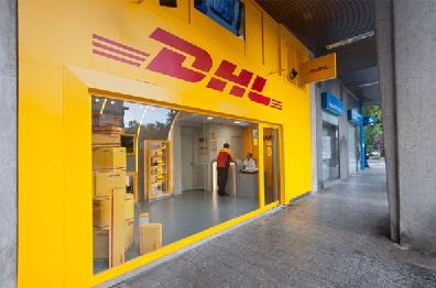 Express center exporta con dhl for Oficinas dhl peru